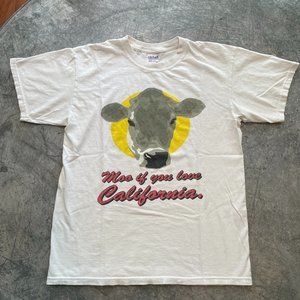Vintage Moo If you Love California Tee